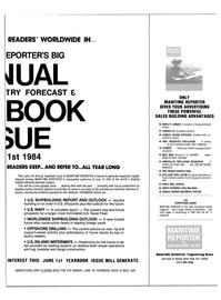 Maritime Reporter Magazine, page 25,  Apr 15, 1984
