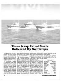 Maritime Reporter Magazine, page 30,  Apr 15, 1984 Canadian Marconi Fathometer Lowrance Speed log Signet Watchkeeper receiver Intech 32 Maritime Reporter/Engineering News