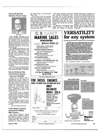Maritime Reporter Magazine, page 31,  Apr 15, 1984 Florida