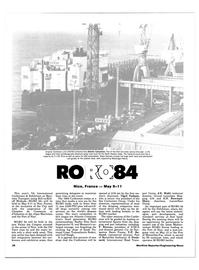 Maritime Reporter Magazine, page 32,  Apr 15, 1984