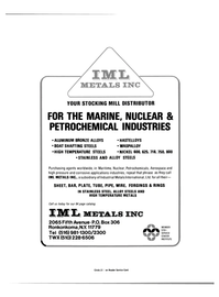 Maritime Reporter Magazine, page 49,  Apr 15, 1984 Industrial Metals International Ltd.