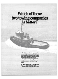 Maritime Reporter Magazine, page 25,  May 1984 HARBOR AND COASTWISE TOWING