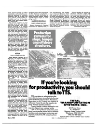 Maritime Reporter Magazine, page 39,  May 1984 California