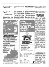 Maritime Reporter Magazine, page 42,  May 1984