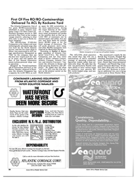 Maritime Reporter Magazine, page 46,  May 1984