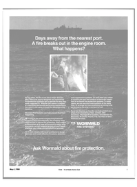 Maritime Reporter Magazine, page 3,  May 1984 maintained fire protection systems