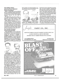 Maritime Reporter Magazine, page 57,  May 1984