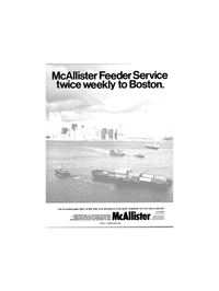 Maritime Reporter Magazine, page 1,  May 15, 1984 McAllister Brothers Inc.