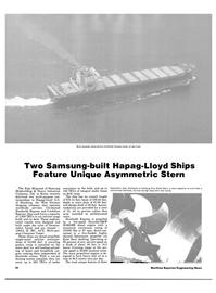Maritime Reporter Magazine, page 14,  Jul 1984 Korea