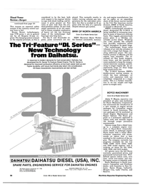 Maritime Reporter Magazine, page 18,  Jul 1984 oil cooler