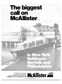 Maritime Reporter Magazine, page 1,  Jul 1984 McAllister Brothers Inc.