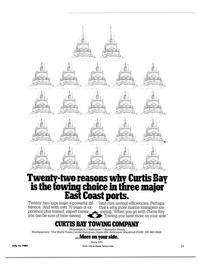 Maritime Reporter Magazine, page 9,  Jul 15, 1984