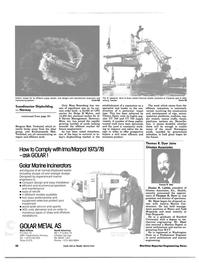 Maritime Reporter Magazine, page 30,  Jul 15, 1984 Duane H. Laible