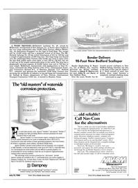 Maritime Reporter Magazine, page 5,  Jul 15, 1984