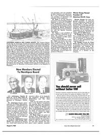 Maritime Reporter Magazine, page 9,  Aug 1984 Ray Yates Jr. Charles