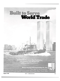 Maritime Reporter Magazine, page 11,  Aug 1984 World Trade Center