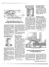 Maritime Reporter Magazine, page 14,  Aug 1984 California