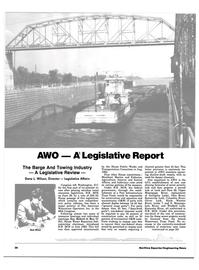 Maritime Reporter Magazine, page 18,  Aug 1984 federal government