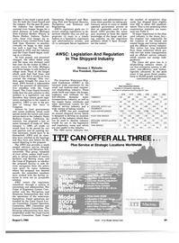 Maritime Reporter Magazine, page 27,  Aug 1984 Indiana