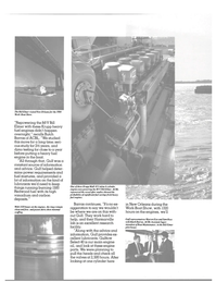 Maritime Reporter Magazine, page 32,  Aug 1984 main engine oil