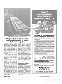 Maritime Reporter Magazine, page 49,  Aug 1984
