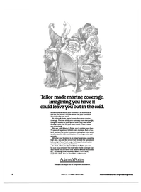 Maritime Reporter Magazine, page 4,  Aug 1984 insurance marketplace