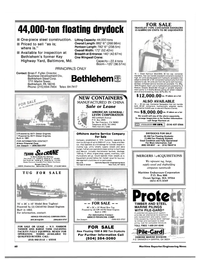 Maritime Reporter Magazine, page 58,  Aug 1984
