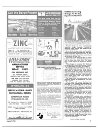Maritime Reporter Magazine, page 59,  Aug 1984 Alabama