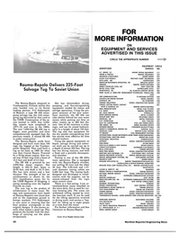 Maritime Reporter Magazine, page 60,  Aug 1984 G.J. Wortelboer Jr.