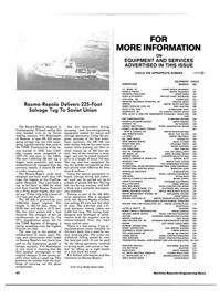 Maritime Reporter Magazine, page 60,  Aug 1984 G.J. Wortelboer Jr.