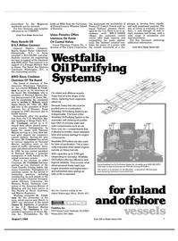 Maritime Reporter Magazine, page 7,  Aug 1984 Archie L. Wilson