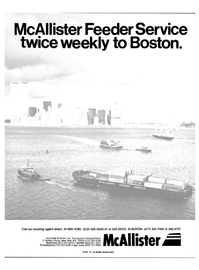 Maritime Reporter Magazine, page 1,  Aug 15, 1984 McAllister Brothers Inc.