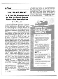Maritime Reporter Magazine, page 29,  Aug 15, 1984