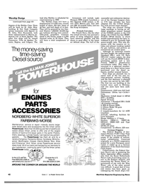 Maritime Reporter Magazine, page 40,  Aug 15, 1984 Navy