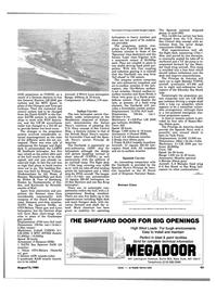 Maritime Reporter Magazine, page 41,  Aug 15, 1984 Niedersachsen