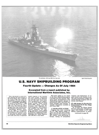 Maritime Reporter Magazine, page 42,  Aug 15, 1984