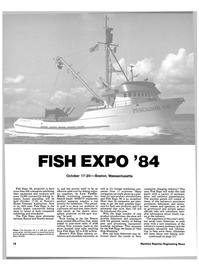Maritime Reporter Magazine, page 16,  Oct 1984