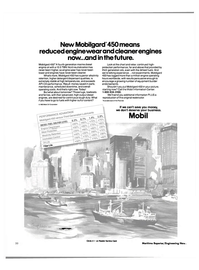 Maritime Reporter Magazine, page 20,  Oct 1984 Mobil Oil Corporation