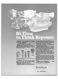 Maritime Reporter Magazine, page 25,  Oct 1984 Detroit Diesel