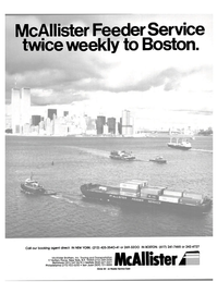 Maritime Reporter Magazine, page 1,  Oct 1984 McAllister Brothers Inc.