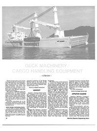 Maritime Reporter Magazine, page 28,  Oct 1984 lift cargo carrier