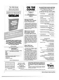 Maritime Reporter Magazine, page 2,  Oct 1984