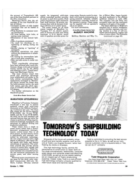 Maritime Reporter Magazine, page 41,  Oct 1984 Todd
