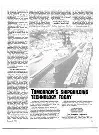 Maritime Reporter Magazine, page 41,  Oct 1984