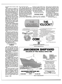 Maritime Reporter Magazine, page 43,  Oct 1984