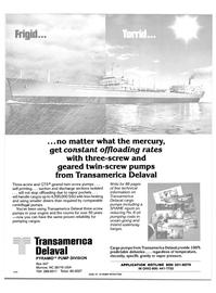Maritime Reporter Magazine, page 50,  Oct 1984