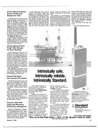 Maritime Reporter Magazine, page 59,  Oct 1984