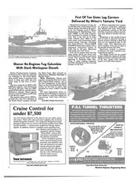 Maritime Reporter Magazine, page 6,  Oct 1984