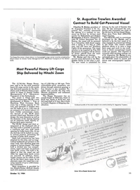 Maritime Reporter Magazine, page 9,  Oct 15, 1984 Charles H. Rains