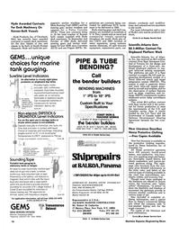 Maritime Reporter Magazine, page 14,  Oct 15, 1984 Robert M. Catherine